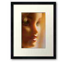 bokeh barbie Framed Print