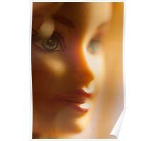 bokeh barbie Poster