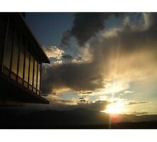 """Architectural Sunset - Colorado Springs, Colorado"" Photographic Print"