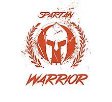 Spartan Warrior Photographic Print