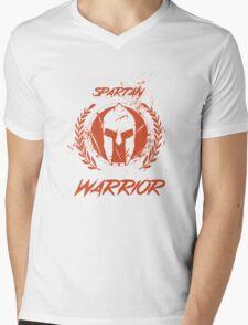 Spartan Warrior Mens V-Neck T-Shirt
