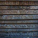 halebid temple by rainbowvortex