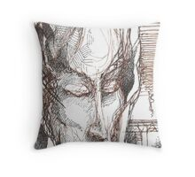 Nimbus, realities crash Throw Pillow