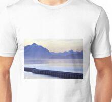 Purple light  in Bariloche  Unisex T-Shirt