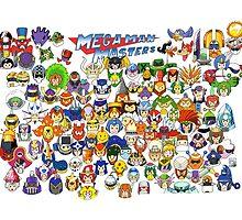 Mega Man Masters  by Fishonastick