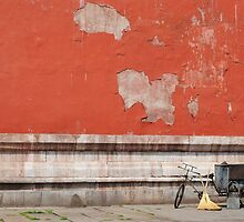 A Tricycle and Two Brooms by Christopher Colletta