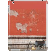 A Tricycle and Two Brooms iPad Case/Skin