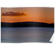 All Aglow, Lake Macquarie Poster