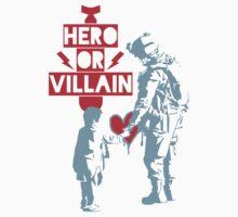 US Soldier Hero or Villain T-Shirt