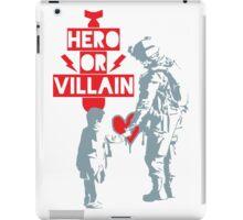 US Soldier Hero or Villain iPad Case/Skin