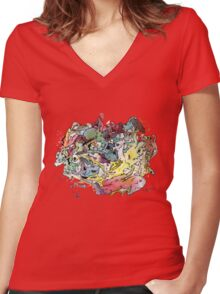 My loved Chaos Women's Fitted V-Neck T-Shirt