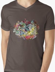 My loved Chaos Mens V-Neck T-Shirt