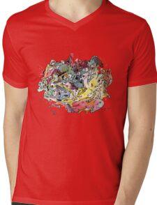 My loved Chaos Mens V-Neck T-Shirt