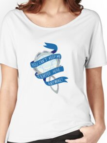 she was trapped in a mirror Women's Relaxed Fit T-Shirt