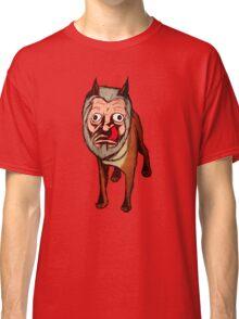 Man Faced Dog! Classic T-Shirt