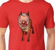 Man Faced Dog! Unisex T-Shirt