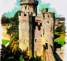 Beautiful Britain - Warwick Castle by Dennis Melling