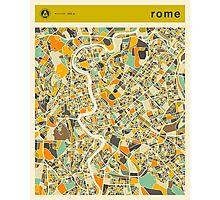 ROME MAP Photographic Print