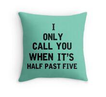 The Hills Lyrics Highlight Throw Pillow