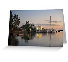 Carlo Point, Rainbow Beach At Sunset. Queensland, Australia. (4) Greeting Card