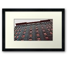 Asch Building - site of the Triangle Shirtwaist Company fire Framed Print