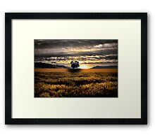 Another Day Of Glory ~ Sand Point, Oregon, USA Framed Print