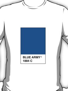 Leicester City Blue Army Pantone T-Shirt