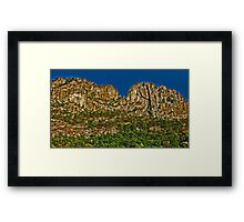 Seneca Rocks - Pendleton County Framed Print