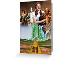 The Wizard of Oz - Emerald City Greeting Card