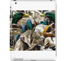 Fancy Meeting You Here ! -  WetLands - A View  iPad Case/Skin
