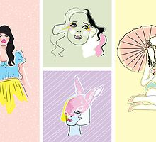 Pastel Fashion Collection by tiffatron
