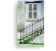 Bits of Paris Canvas Print
