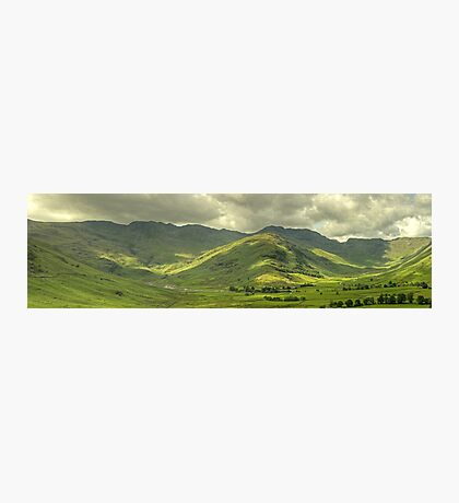 Langdale Skyline Photographic Print