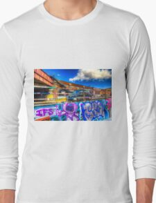 Leake Street and London Taxi Long Sleeve T-Shirt