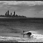 The Surfer by John Van-Den-Broeke