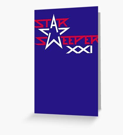 Star Sweeper XXI - American Made Greeting Card