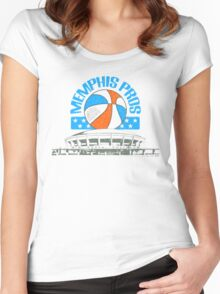 Memphis Pros Women's Fitted Scoop T-Shirt