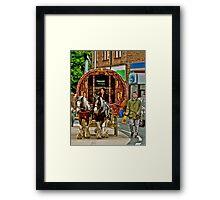 Arriving in Appleby Framed Print