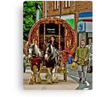 Arriving in Appleby Canvas Print