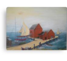 Wharf  Canvas Print