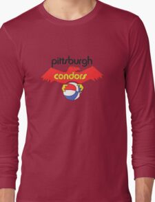 Pittsburgh Condors Vintage Long Sleeve T-Shirt