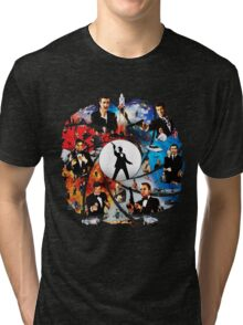 The Incredible World Of 007 Tri-blend T-Shirt