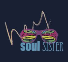 Hey Soul Sister T-shirt by mg573