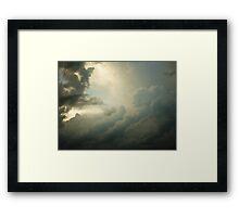 THUNDERS WARDROBE Framed Print