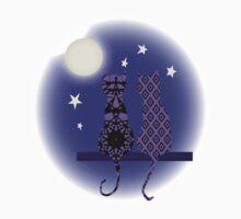 Moonlight Moggies Baby Tee