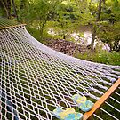 Flip Flops On Hammock by John Hartung