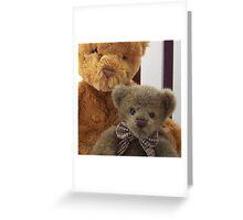 Benjamin and Bernard Greeting Card