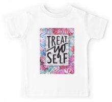Treat Yo Self Parks and Recreation  Kids Tee