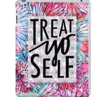 Treat Yo Self Parks and Recreation  iPad Case/Skin