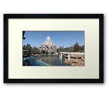 The Matterhorn - Disneyland CA Framed Print